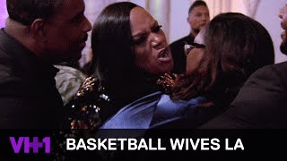 Jackie Christie Is Ready To Fight Angel Love | Basketball Wives LA