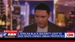 South African Black-Majority Gov't to Seize White-Owned Urban Properties