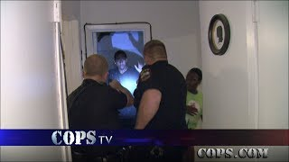 Through the Roof, Officer Brad Makovy, COPS TV SHOW