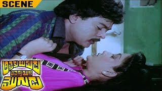 Chiranjeevi Seducing Vijayasanthi in Women Hostel | Attaku Yamudu Ammayiki Mogudu Movie