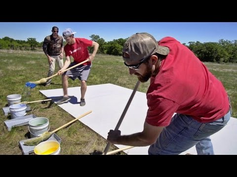 Giant Pictionary Team Battle Dude Perfect