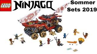 LEGO Ninjago Sommer Sets 2019 / Sets zur Staffel 11