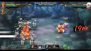Naruto Online : SA Hanzo Difficult DUO EARTH MC [Crimson Fist]