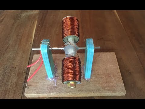 Science School project , Easy way to create DC motor , For Education