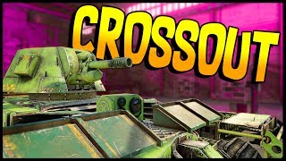 Crossout - FATMAN TANK & Death Race Mad Max Truck - Let's Play Crossout Gameplay