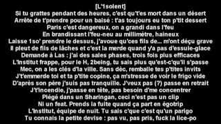 Maitre gims - Sharingan ft Orelsan x The shin sekai ceci n'est pas un clip (Paroles)