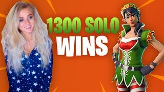 Fortnite - So close to 1400 solo wins..