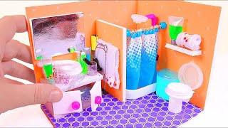 DIY Miniature Dollhouse Toilet (Part II)