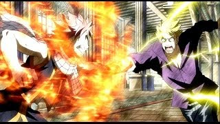 Natsu Vs. Laxus - Full Fight - English Sub
