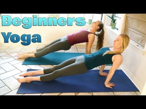 Yoga For Complete Beginners 2 - Relaxation & Flexibility Stretches 10 Minute Yoga Workout