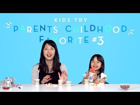 Suvi Tries Her Mom s Favorite Childhood Snack Kids Try HiHo Kids