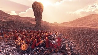 300 Spartans VS 20,000 Persians(Animation Upgraded) - Ultimate Epic Battle Simulator
