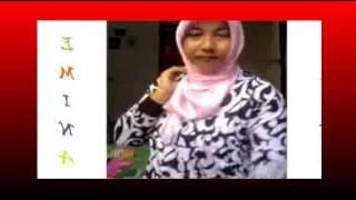 Tutorial Jilbab satin untuk wajah bulat yang simple by ike octavia