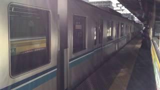 【客終合図】JR中央緩行線中野駅3番線 手旗による乗降終了合図