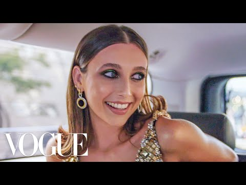 Emma Chamberlain Gets Ready for the Met Gala Vogue
