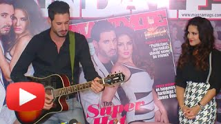 Daniel Weber Sings A Romantic Song For Sunny Leone | Mandate Magazine Cover Launch