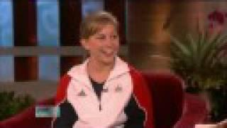 Shawn Johnson on The Ellen Show - 9/9/08 (PART 1 of 2)