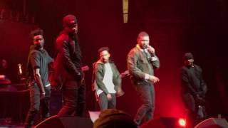 Usher , Teyana Taylor , Young Thug ASAP Ferg Live Hot 97 Hot For Holidays Concert