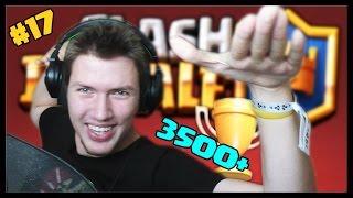 3500+ TROFEJÍ! - Clash Royale #17 | SK Let's play | facecam | HD 60FPS