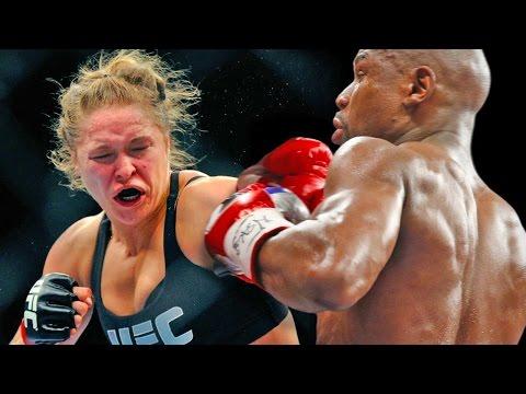 Ronda Rousey vs Floyd Mayweather at WrestleMania 32 in Houston
