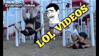 LOL Funny People Fails - Funny Videos Compilation ( Enamon Jokes )