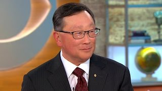 Blackberry CEO on security, future of the company