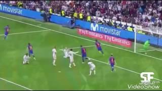 Messi 500th goal PARODY celebration against Madrid (Patrick Star parody)