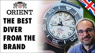 Orient Professional Saturation Diver EL02003W, the beast from Japan!