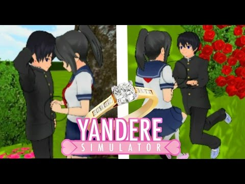 SENPAI WANTS TO MARRY AYANO?! | Yandere Simulator Roleplay Ep 9