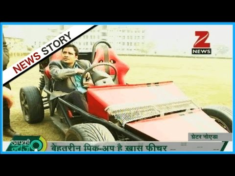 Desi Sports Car of India : Engineering students develops a Sports car from scrap materials