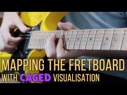 Map The Fretboard Like A Pro: CAGED Visualisation