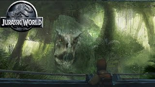 Jurassic World Carnotaurus - Camouflage Scene - Jurassic World Fallen Kingdom Dinosaurs