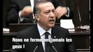 Le Premier Ministre Turc ERDOGAN remet en place Israël ! un HOMME