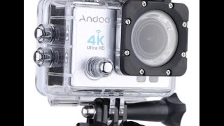 andoer camera ultra hd 4k review action sports zoom wifi waterproof wide lens