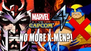 NO MORE X-MEN?! Marvel Vs. Capcom 4 Rumor  **UPDATE**