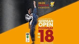 Taekwondo German Open Poomsae 2018 - Day 1