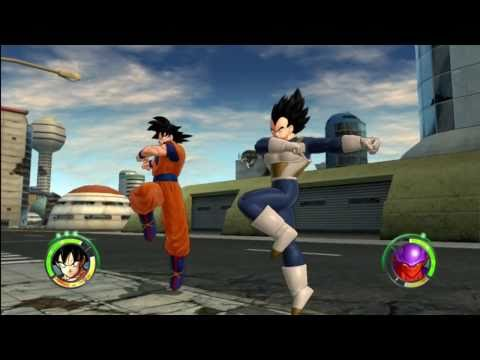 Dragonball Z Raging Blast 2 Goku & Vegeta VS Movie Villains