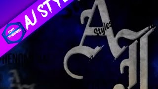 WWE AJ Styles Exit Theme
