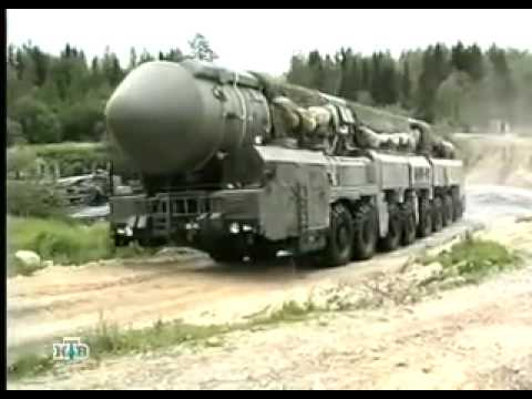 Russian Topol M The most powerful nuclear weapons in the world