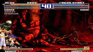 Tips vs Bosses Hinako vs Mukai KOF 2003