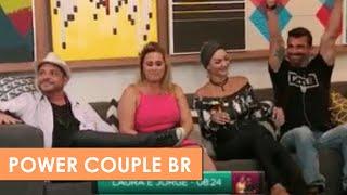 POWER COUPLE BR - ELIMINAÇÃO CONRADO E ANDREIA SORVETÃO (EPISÓDIO 9)
