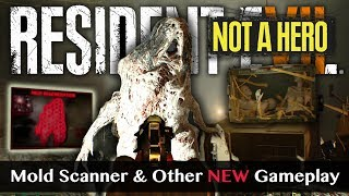 RESIDENT EVIL 7 NOT A HERO | More New Gameplay From TGS | Mold Scan, Knife Flips