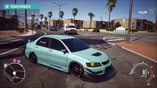 Need For Speed Payback | 900hp Evo 9 | Level 399 | Acceleration test