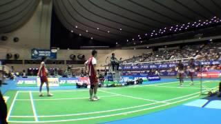 佐伯祐行・垰畑亮太 VS Bodin ISSARA・Maneepong JONGJIT(THA)