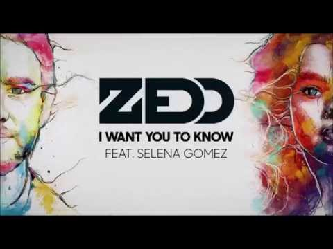 I Want You To Know Zedd feat. Selena Gomez Lyrics