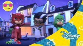 Disney Channel España | PJ Masks -  Gatuno contra Rob-gato