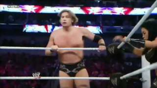 WWE Superstars 10/03/11 Mark Henry, Great Khali & Natalya vs Tyson Kidd, William Regal & Melina
