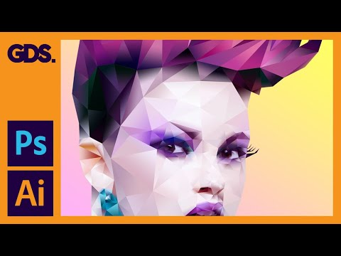 Low Poly Background Tutorial Adobe Photoshop & Illustrator - Create Triangle Pattern Illustrator