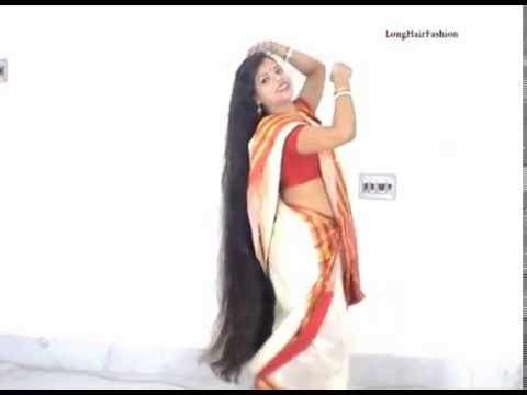 Indian Traditional LongHair Bun promo