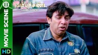 Uday's father embarrasses his son | Vambu Sandai | Movie Scene